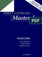 First Certificate Master Class