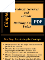 Products, Services, and Brands: