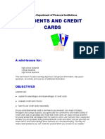 STUDENTS AND CREDIT CARDS