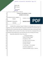 06-03-2016 ECF 493 USA v Gregory Burleson - Burleson Motion to Sever