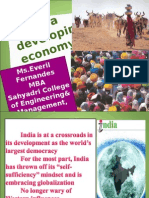 india a developing economy