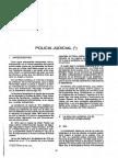 Policia Judicial en Derecho Comparado