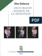 Deleuze, Gilles - Francis Bacon - Logique de La Sensation (2002, Seuil, 9782021010640)