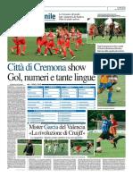La Provincia Di Cremona 04-06-2016 - Calcio Lega Pro - Pag.2