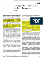 A Gricean Turn in the Study of Languages