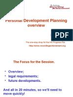 Personal Development Progress File