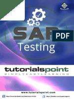 Sap Testing Tutorial