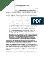La Disolución Del Complejo de Edipo (mini resumen)