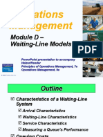 Queuing Models Lecture Presentation.ppt