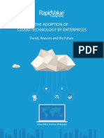 The Adoption of Cloud Technology by Enterprises a Whitepaper by RapidValue Solutions