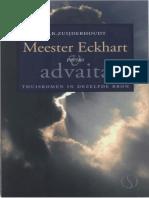C.B. Zuiderhoudt - Meester Eckhart Versus Advaita