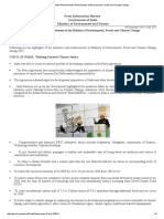 PIB Moef Information