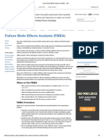 Failure Mode Effects Analysis (FMEA) - ASQ