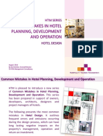 Common Mistakes in Hotel Planning Develo
