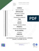 Actividad 2 Mendez Espinosa Yolanda Yareni Materiales de La Ingenieria