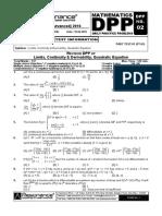 Revision Plan-II (Dpp # 2)_mathematics_english