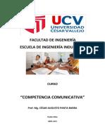 Sílabo Comptencia  Comunicativa