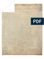 Declaration of Independence from US Archives