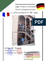 Schüleraustausch Semur 2010