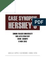 Hershey Startegy