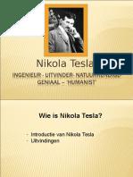 Nikola Tesla Intro power point presentaiton