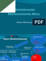 Administración Mantenimiento Mina