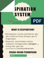 Respiration System FIX