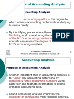 Accounting Analysis