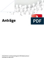 Landesparteitag 2010 Antragspaket