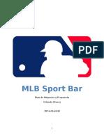 business plan - mlb sport bar
