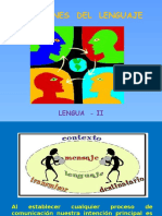 Funciones Lenguaje LENGUA II