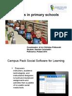 IT Tools in Primary Schools
