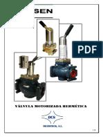 Valvula Motorizada Hermetica