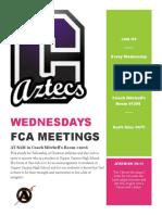 FCA Flyer