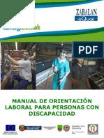 Orientación Laboral Para Personas Con Diversidad Funcional de Lantegi Batuak