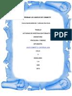Tarea de Investigacion Formativa II Unidad