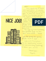Note From Marti - Principal at MJHS