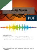 Aula 4e5 - Fonética Acústica