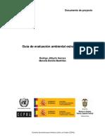 Cepal Evaluacion Ambiental Estrategica