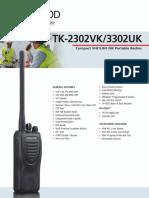TK-2302VK 3302UK Brochure