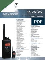 NX-200 300 Brochure