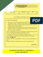 Prova Pmpe 2016 - Caderno de Prova Amarelo Com Gabarito 20160529