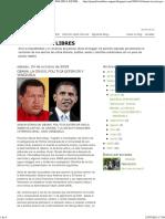 Crisis Politica Obama