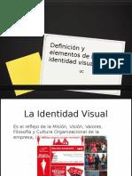 Definiciones y Elementos Identidad Visual