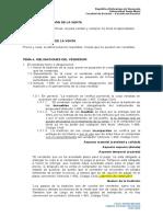 USM, Tema 2 - Obligaciones Del Vendedor