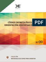 00 Codigo Deontologico Orientacion Espana COPOE