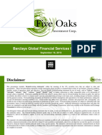 Five Oaks Barclays Presentation Sep 18 2015v7