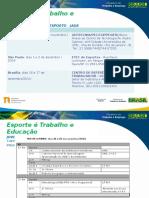 Capacitações JADE - Quando Onde Programa1