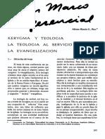 Alfonso Teología de La Evangelización