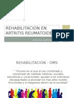 Rehabilitacion en Artritis Reumatoide